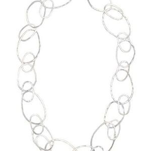 Bubble Up sterling silver necklace